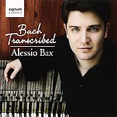 Bach Transcribed - Godowsky, Petri, Saint-Sa&euml;ns, Siloti / Alessio Bax