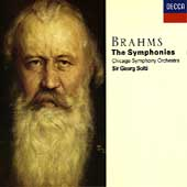 Brahms: The Symphonies / Solti, Chicago Symphony Orchestra