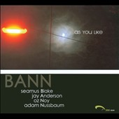 BANN: As You Like [Digipak]