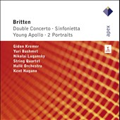Britten: Double Concerto; Sinfonietta; Young Apollo; 2 Portraits / Kremer, Bashmet, Lugansky Qrt