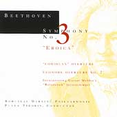 Beethoven: Symphony no 3, etc / Peter Tiboris