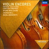 Violin Encores - Meditation; Salut d'Amour; Liebeslied et al. / Kyung Wha Chung; Joshua Bell; Nicola Benedetti