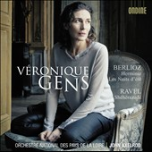 Berlioz: Herminie; Les Nuits d'&#233;t&#233;; Ravel: Sh&eacute;h&eacute;razade / V&eacute;ronique Gens, soprano