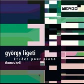 Gyorgy Ligeti: Etudes for Piano / Thomas Hell, piano