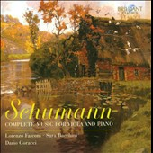 Schumann: Complete Music for Viola and Piano / Lorenzo Falconi; Sara Bacchini; Dario Goracci