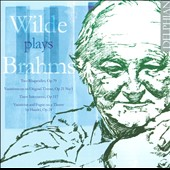 David Wilde Plays Brahms: 2 Rhapsodies, Op. 79; Variations, Op. 21/1; 3 Intermezzi, Op .117; 'Handel' Variations