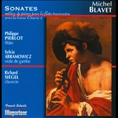 Michel Blavet (1700-1768): Sonatas for flute and basso continuo, Op. 2 / Philippe Pierlot, Richard Siegel, Sylvia Abramowicz