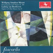Mozart: Divertimento in F major, K. 247; Beethoven: Septet, Op. 20 / Ensemble Fiacorda