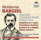 Woldemar Bargiel: Complete Orchestral Music, Vol. 1 / Siberian SO; Dmitry Vasilyev