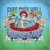 Grateful Dead: Fare Thee Well: Celebrating 50 Years of Grateful Dead - July 5, 2015 [Three-CD/Two-BR]