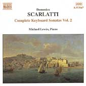 D. Scarlatti: Complete Keyboard Sonatas Vol 2 / Michael Lewin