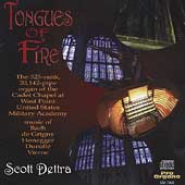 Tongues of Fire - Bach, de Grigny, et al / Scott Dettra