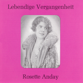 Lebendige Vergangenheit - Rossette Anday