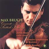 Bruch: Concerto no 2, etc / Ehnes, Bernardi, Montreal SO