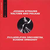 Strauss: Waltzes and Polkas /Ormandy, Philadelphia Orchestra
