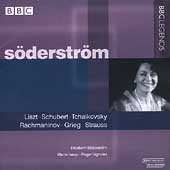 Liszt, Schubert, et al: Songs and Lieder / Söderström, et al