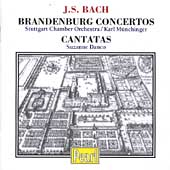 Bach: Brandenburg Concertos, etc / Munchinger, et al