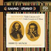 Beethoven, Mendelssohn: Violin Concertos / Heifetz, Munch