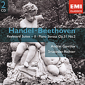 Gemini - Handel: Suites;  Beethoven / Richter, Gavrilov