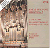 Great European Organs Vol 7 / Jane Watts