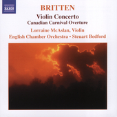 Britten: Violin Concerto, etc / McAslan, Bedford, et al