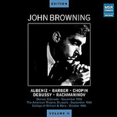 John Browning Edition Vol 2 - Chopin, Debussy, Barber