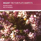 Mozart: The Four Flute Quartets / Adeney, Melos Ensemble