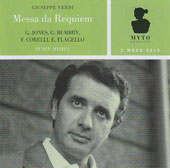 Verdi: Requiem Mass / Gwyneth Jones, Grace Bumbry, Franco Corelli, Ezio Flagello. LA PO, Mehta (1967)