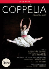 Delibes: Coppélia / Kessels, Paris National Opera Ballet [DVD]