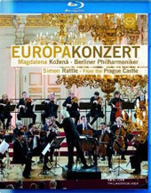Europakonzert 2013 from Prague: Vaughan Williams: 'Tallis' Fantasia; Dvorak: Biblical Songs, Op. 93; Beethoven: Symphony no 6 / Magdalena Kožená, soprano; Rattle, Berlin PO [Blu-Ray]