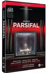 Wagner: Parsifal / Simon O'Neill, Angela Denoke, René Pape, Gerald Finley, Willard White, Robert Lloyd. ROH Covent Garden, Pappano [2 Blu-ray]