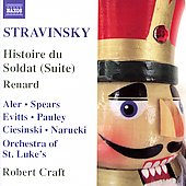 Stravinsky: Histoire du soldat (Suite), etc / Craft, et al
