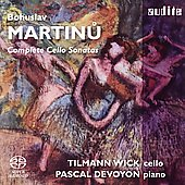 Martinu: Sonatas for Cello / Wick, Devoyon