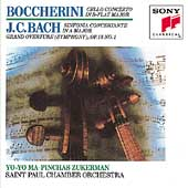 Boccherini: Cello Concerto;  J.C. Bach / Ma, Zuckerman