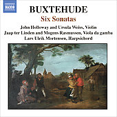 Buxtehude: Six Sonatas / Holloway, Weiss, Mortensen, et al