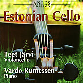 Estonian Cello - Eller, Lapp, Tobias, Part, Tubin, etc / Teet Järvi, Vardo Rumessen