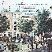 Mendelssohn: Songs and Duets, Vol. 4