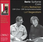 Berio: Epifanie; Coro