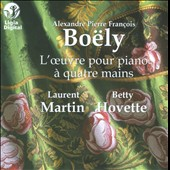 Boëly: Works for Piano, Four-Hands