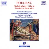 Poulenc: Stabat Mater, Gloria, Litanies / Borst, Piquemal