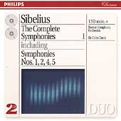 Sibelius: The Complete Symphonies Vol 1 / Davis, Boston SO