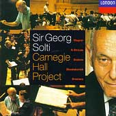 Carnegie Hall Project / Sir Georg Solti