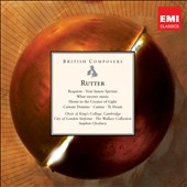 John Rutter: Requiem; Te Deum / Cleobury, King's College Choir