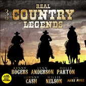 Various Artists: Real Country Legends [Box]