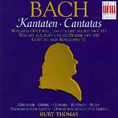 Bach: Cantatas BWV 111, 140, 71 / Kurt Thomas, et al