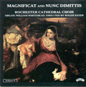 Magnificat and Nunc Dimittis Vol 6 / Sayer, Whitehead, et al