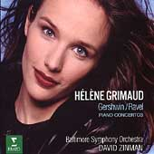 Gershwin, Ravel: Piano Concertos / Grimaud, Zinman