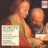 Sch&#252;tz: Johannes-Passion, Psalmen / Fl&#228;mig, Schreier, et al