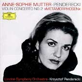 Penderecki: Violin Concerto no 2;  etc / Mutter, Penderecki