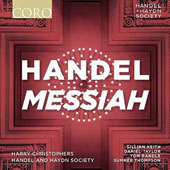 Handel: Messiah / Gillian Keith: soprano; Handel & Haydn Society; Christophers